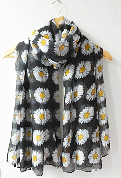 Daisy viscose SCARF for muslims