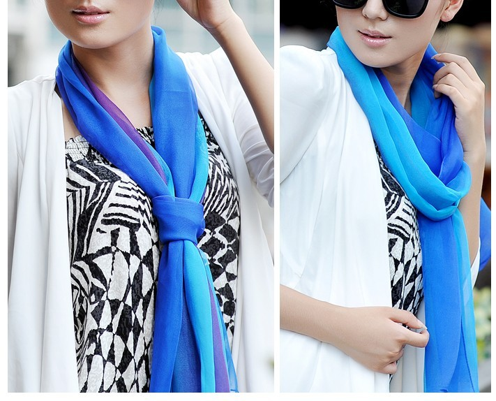 SEO_COMMON_KEYWORDS 2013 Multi Color Rainbow Scarf Cute Designer Fashion Womens Scar