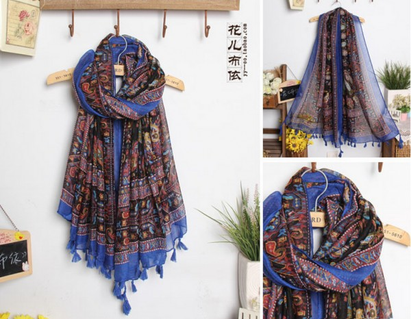 1 2014 German Viscose Scarf