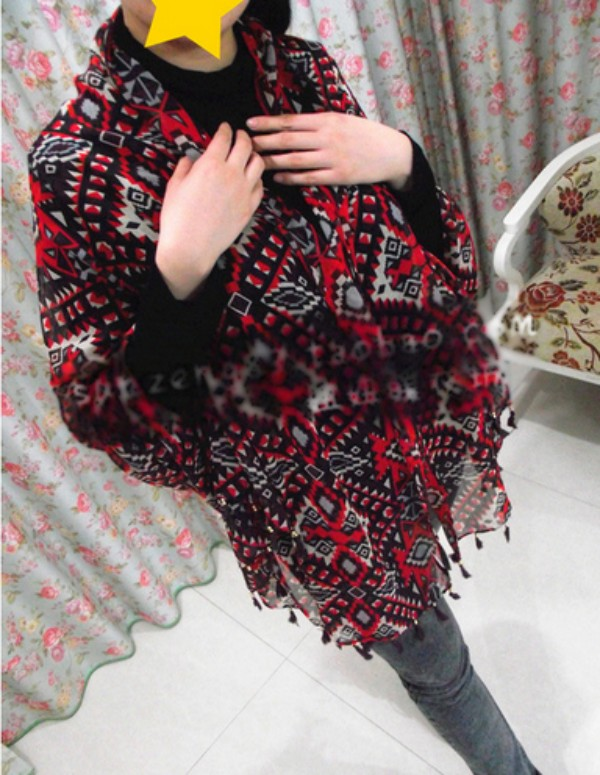 1 2014 Viscose Scarf with fashion style