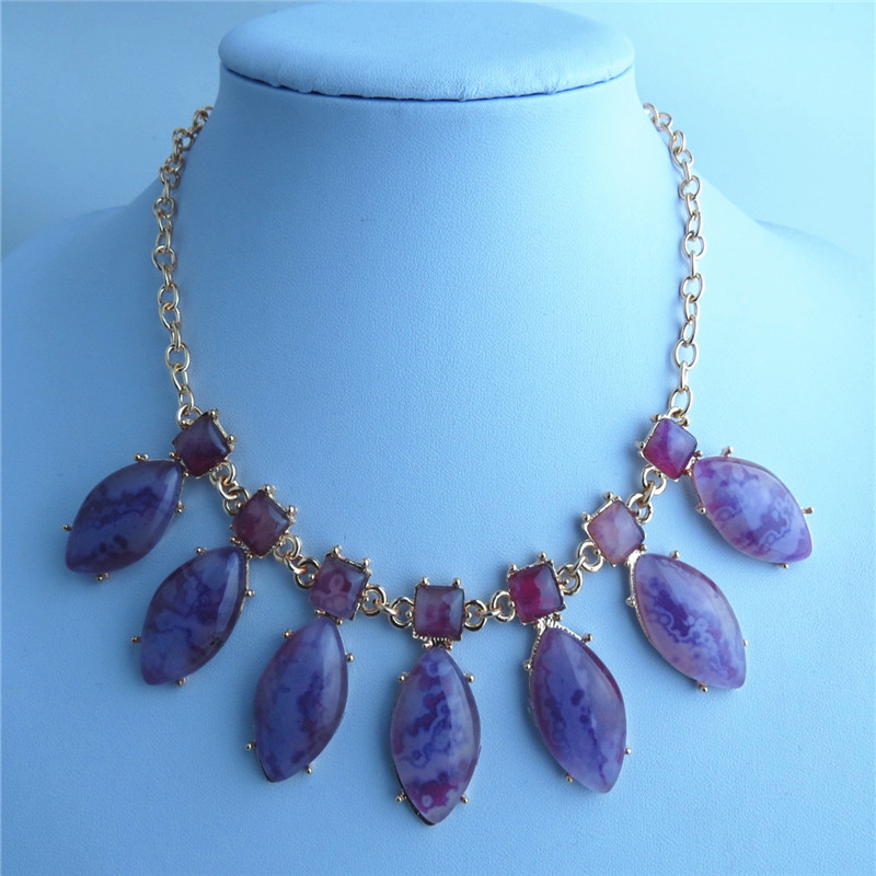 SEO_COMMON_KEYWORDS Amethyst Rhinestone Pends Rings Chain Necklace
