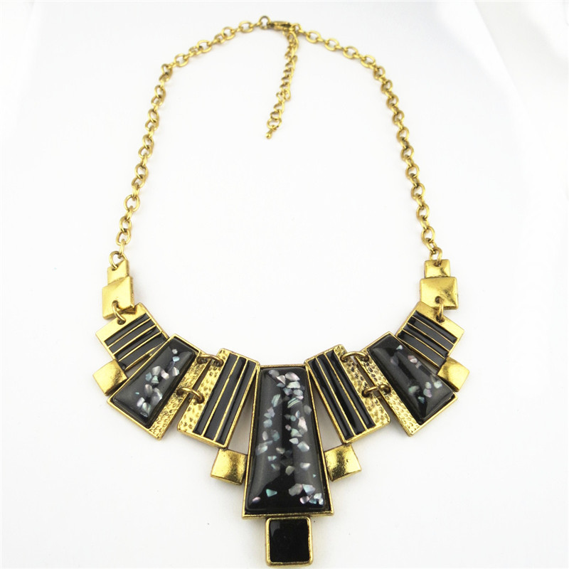 Funky Black Pearly Pends Necklace Wholesale