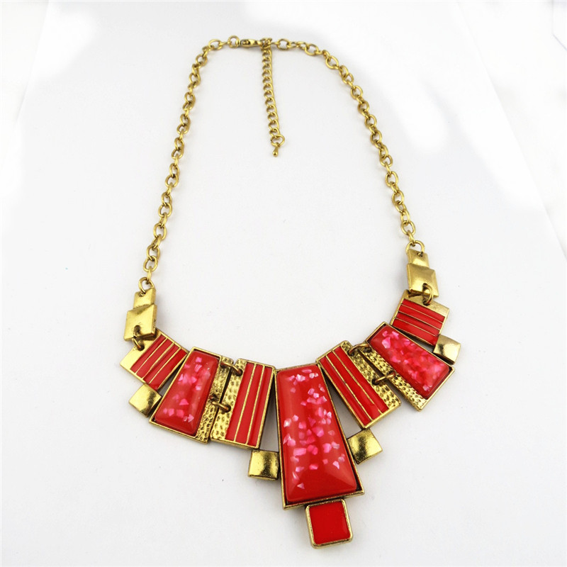 Charming Rudy Multi Pends Bib Necklace Online