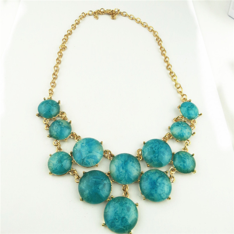 Chunky Lapis Ladies Necklace Wholesale Online