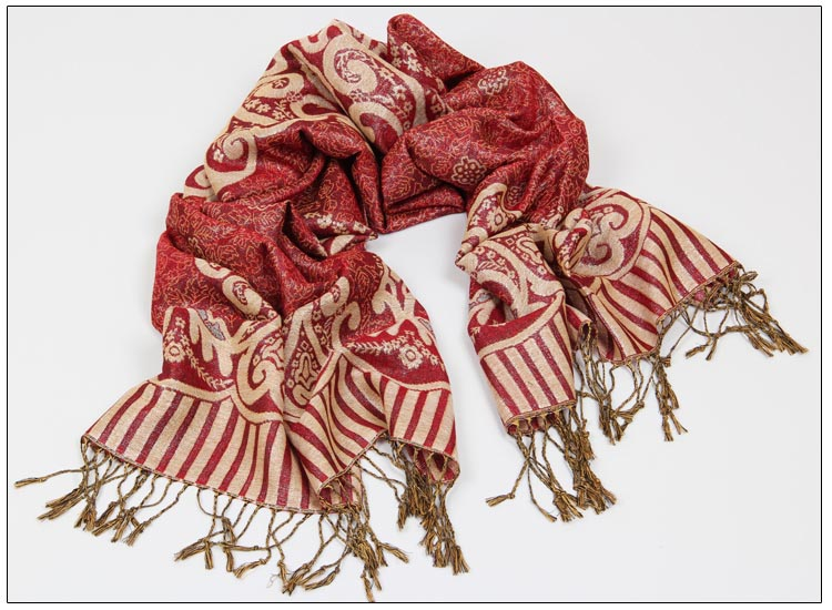 Best Mercerized cotton jacquard scarves usa