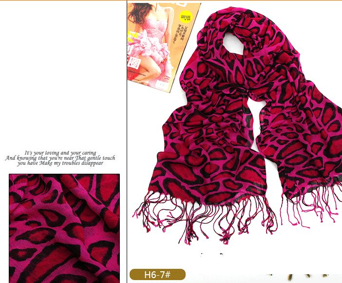 SEO_COMMON_KEYWORDS 2014 Newest Pashmina Scarf with Animal Print