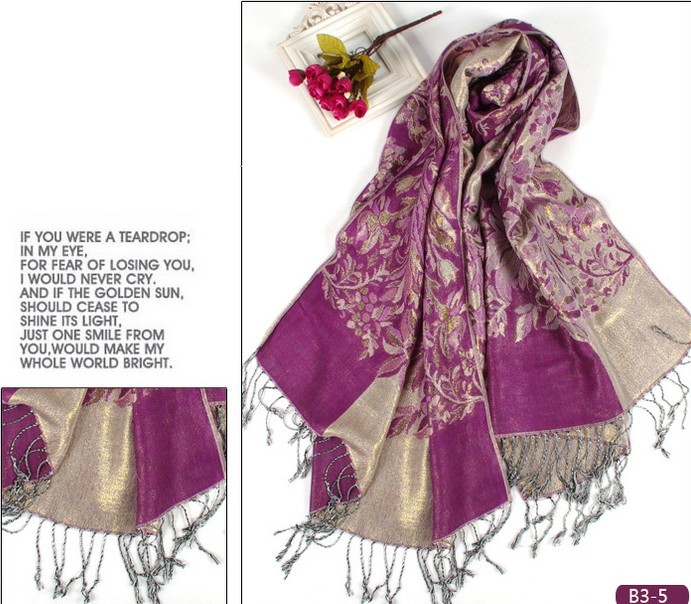 SEO_COMMON_KEYWORDS 2014 Hot Selling Women Shawl Pashmina Scarf Handwork in Canada