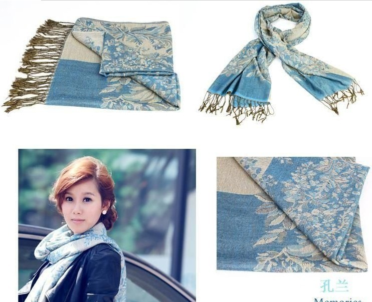 Wholesale 2013 new Fashions Girl's Pashmina Acrylic scarf Wrap S