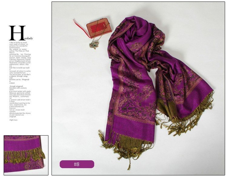 SEO_COMMON_KEYWORDS Fashion Pattern and Purple Pashmina Scarves on sale in Australia