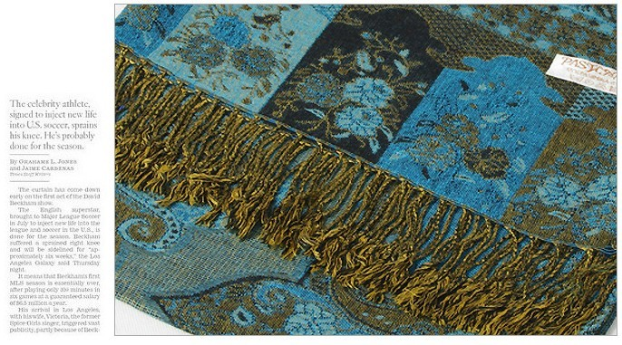 2014 BRAND NEW FRINGED SCARF SHAWL PASHMINA BLUE FLORAL USA