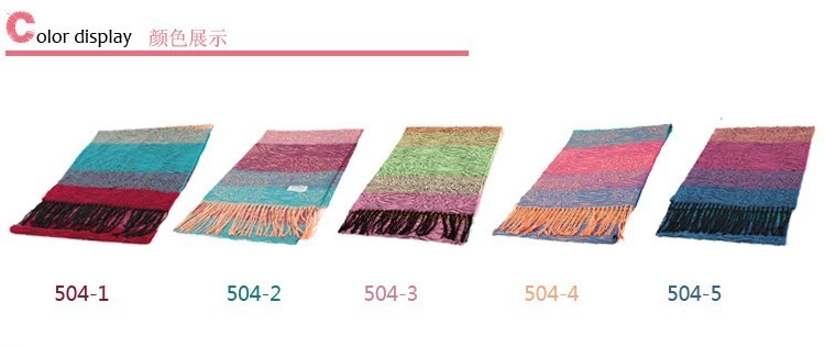 2014 Colorful animal pattern pashmina shawls scarves for women