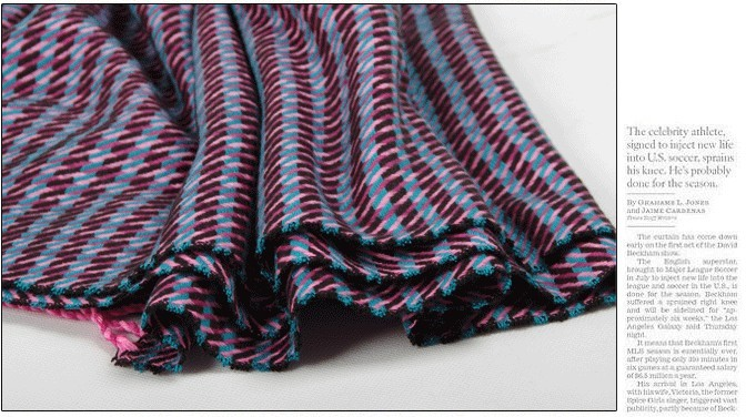 Most Popular pashmina scarf with striped pattern Canada