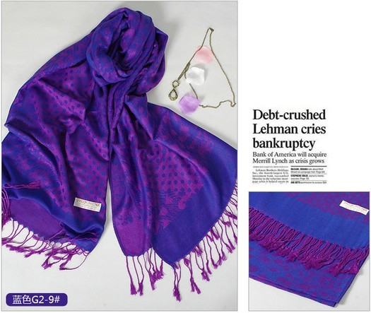 SEO_COMMON_KEYWORDS Discount ladies purple dot style pashmina scarves UK wholesale