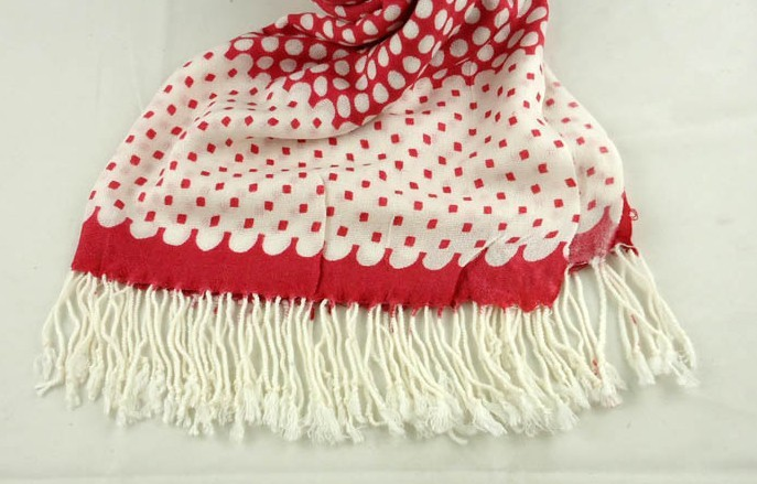 Mixed size and colors Dot designs Pashmina Scarf for Women 2013