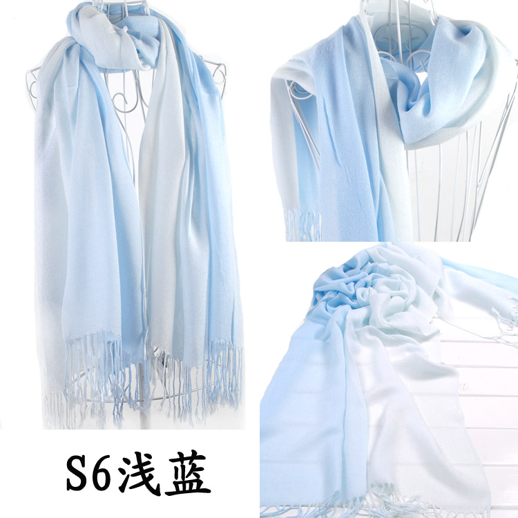 2 Colors Designs Pashmina Scarf/Wrap/Shawl for sale UK