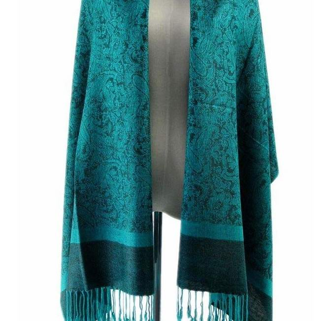 Luxurious Paisley Pashmina Shawls Wholesale Australia