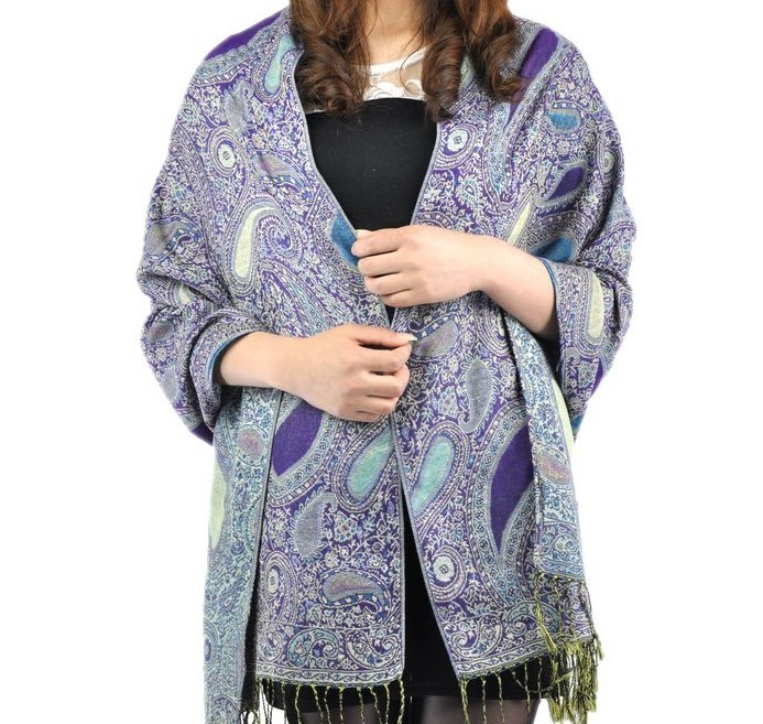 2014 Fashion Luxurious pashmina shawls for women