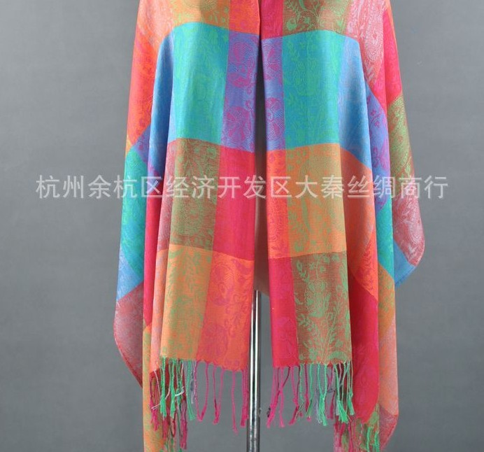 2014 Cheap Trend Simple Paisley Pashmina Shawls Wholesale UK