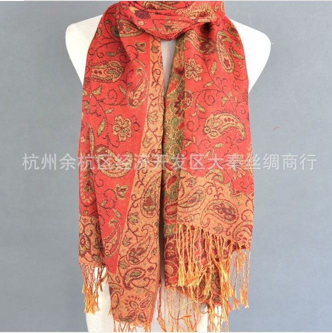 2014 Inexpensive Paisley Pashmina Shawls For Sale