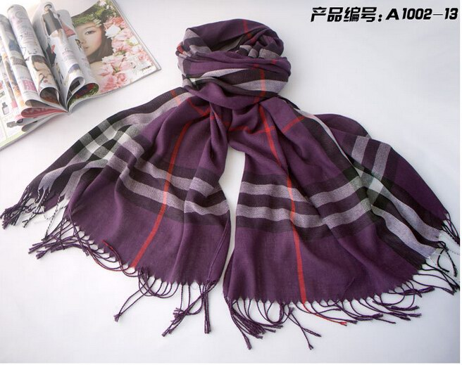 1 Classic Design PASHMINA COTTON SCARF NEW - Click Image to Close