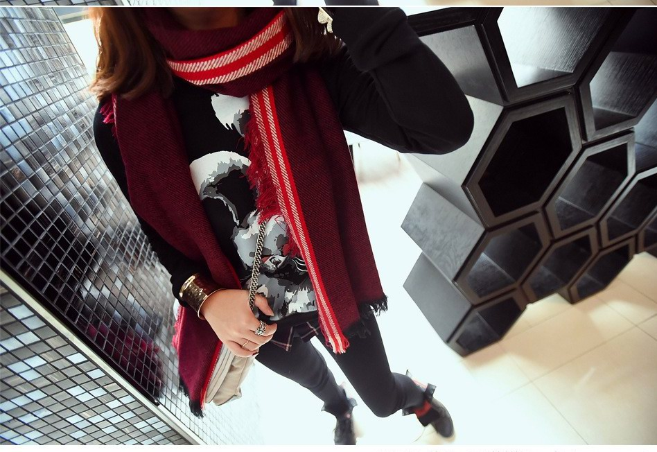 01 Newest Fashion Pashmina Scarf/Shawl For Winter