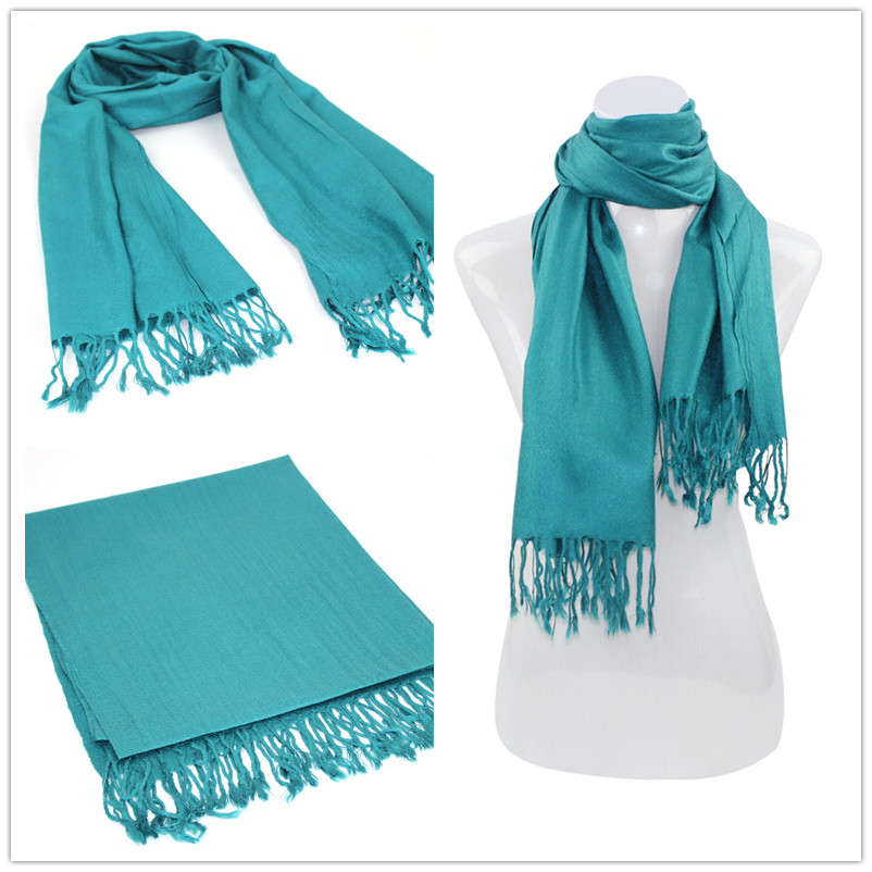 SEO_COMMON_KEYWORDS Blue Pashmina Scarf 003