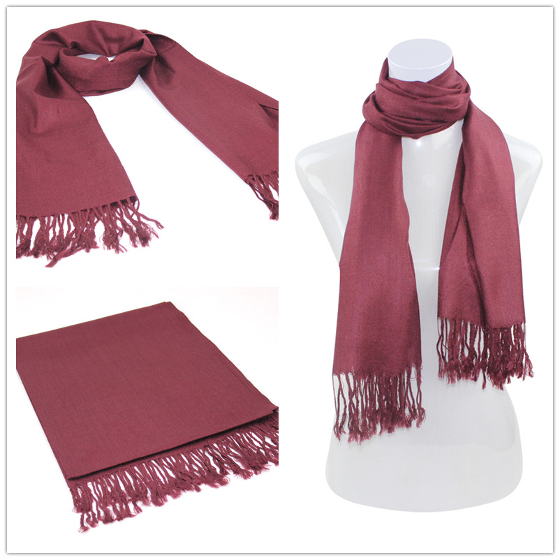 SEO_COMMON_KEYWORDS Solid Color PASHMINAS 012