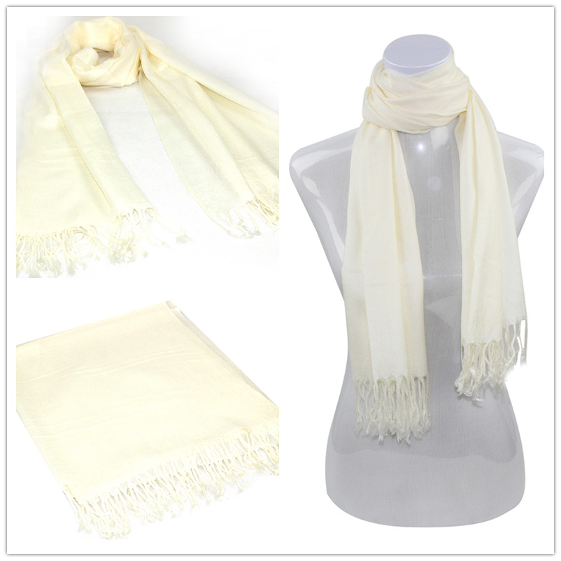 SEO_COMMON_KEYWORDS Cream Pashmina Scarf