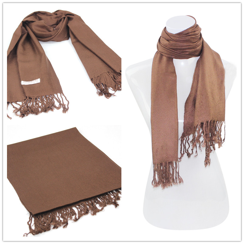SEO_COMMON_KEYWORDS Brown Pashmina Scarf