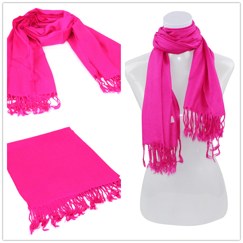 SEO_COMMON_KEYWORDS Hot Pink Pashmina Scarf