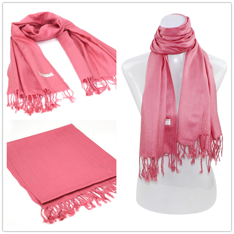 SEO_COMMON_KEYWORDS Red Pashmina Scarf 003