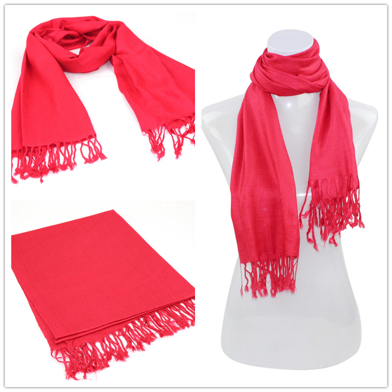 SEO_COMMON_KEYWORDS Red Pashmina Scarf