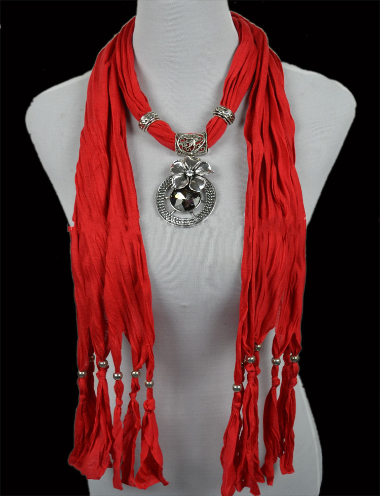 Wholesale jewelry scarf jewellery with pendant