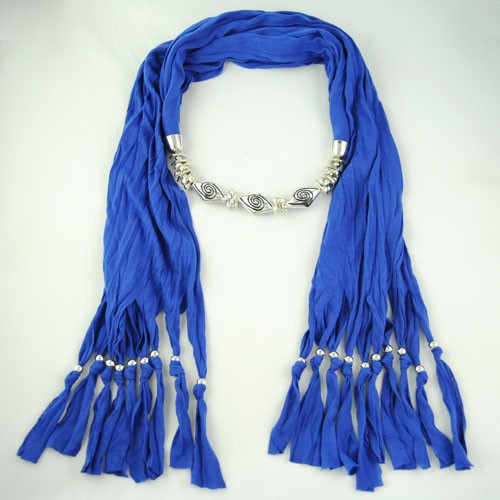 SEO_COMMON_KEYWORDS Blue color wholesale jewelry scarf