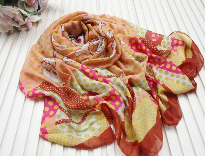 2013 Inexpensive Polyester Scarf/Wrap Wholesale