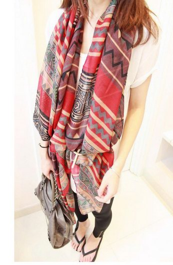 1 Cheap Fashion Design polyester scarf USA