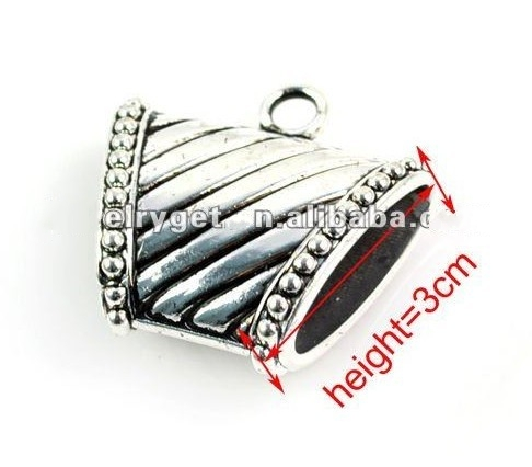 New Fashion CCB Charm Pendants for Jewelry Scarf suppliers