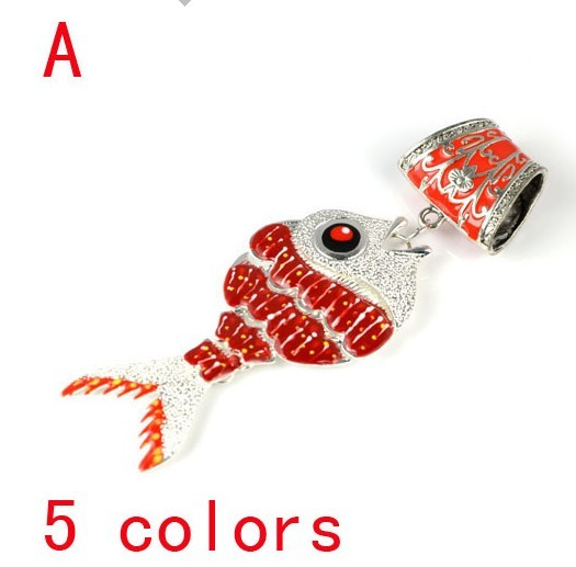 Canada Wholesale fish shaped pendant for jewellery scarf