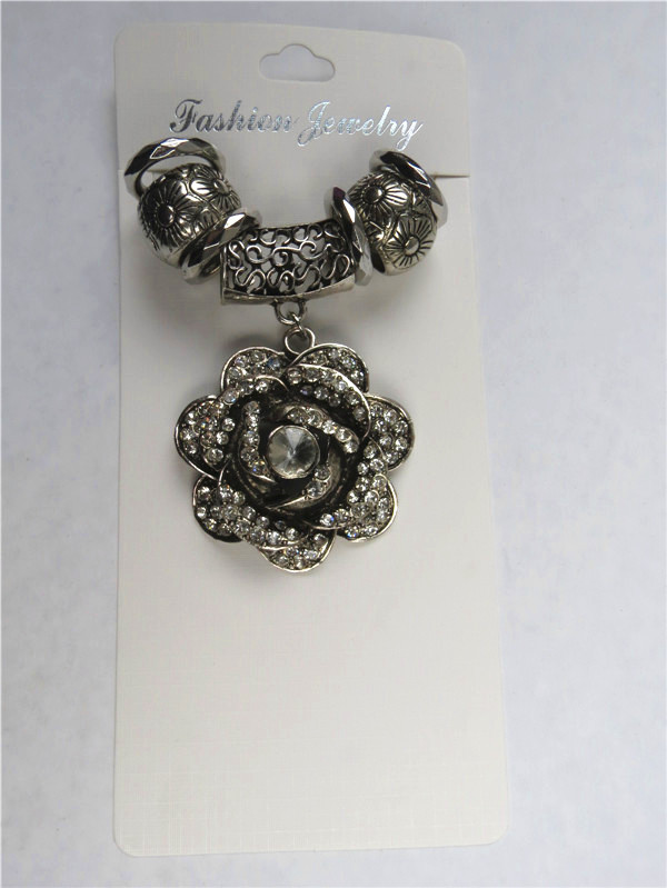 2013 jewelry scarf accessories set with flower style