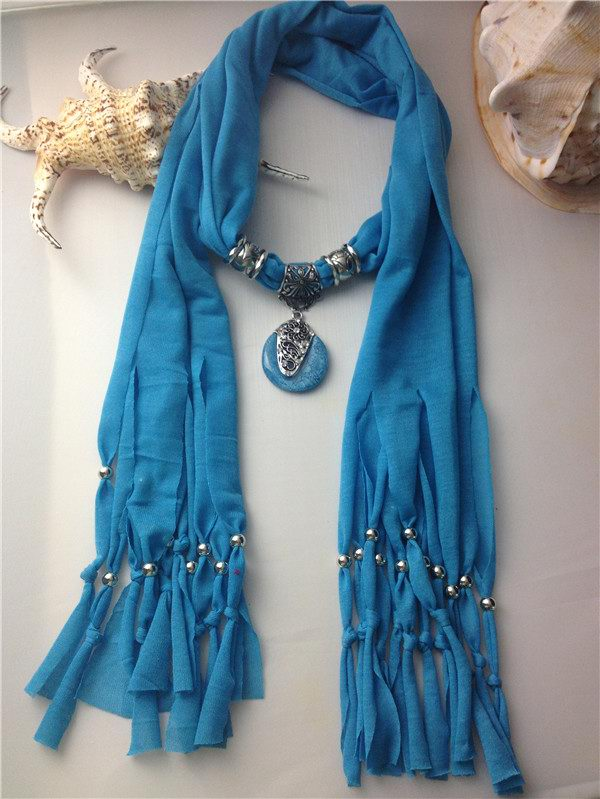 SEO_COMMON_KEYWORDS New fashion tassel jewelry scarfs with rhinestone inlaid