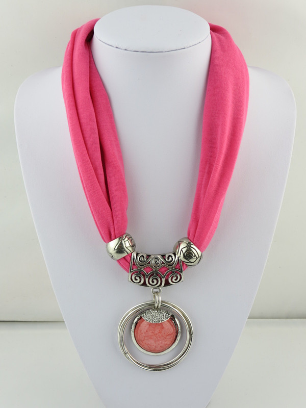 SEO_COMMON_KEYWORDS 1 1 Short Necklace Scarf with RHINESTONE attached