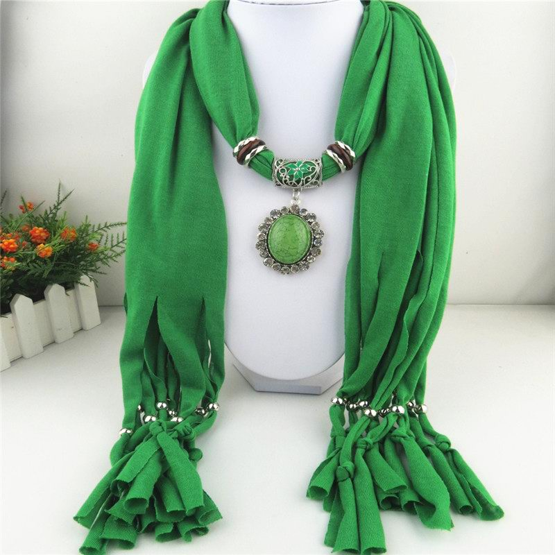 Colors RHINESTONE match colors scarf