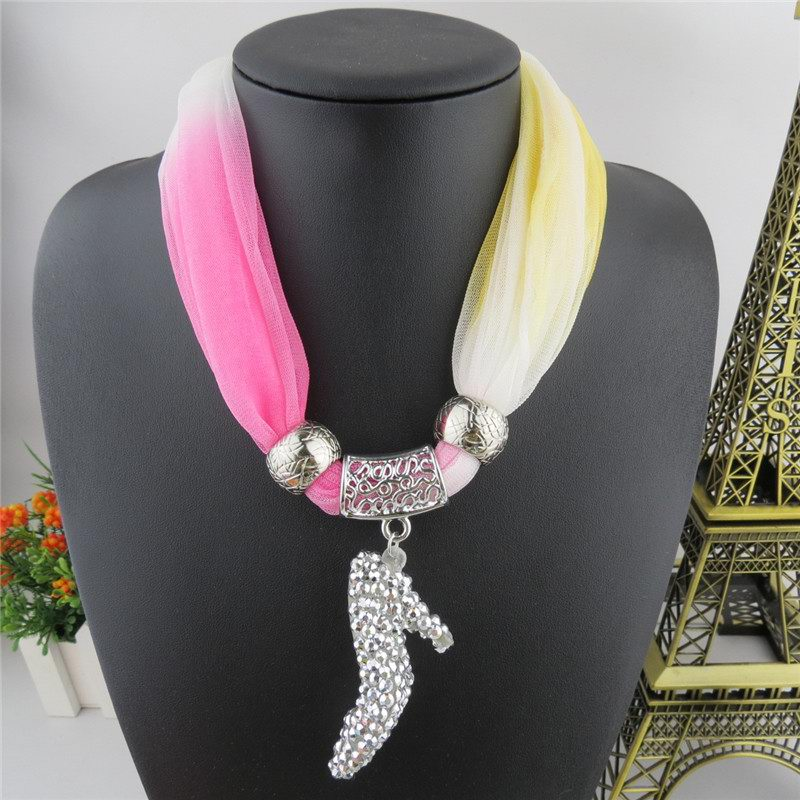 SEO_COMMON_KEYWORDS 2014 New High-heeled Shoes Design Jewelry Scarf