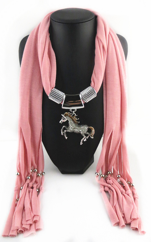 New Horse Jewelry Scarf On sale