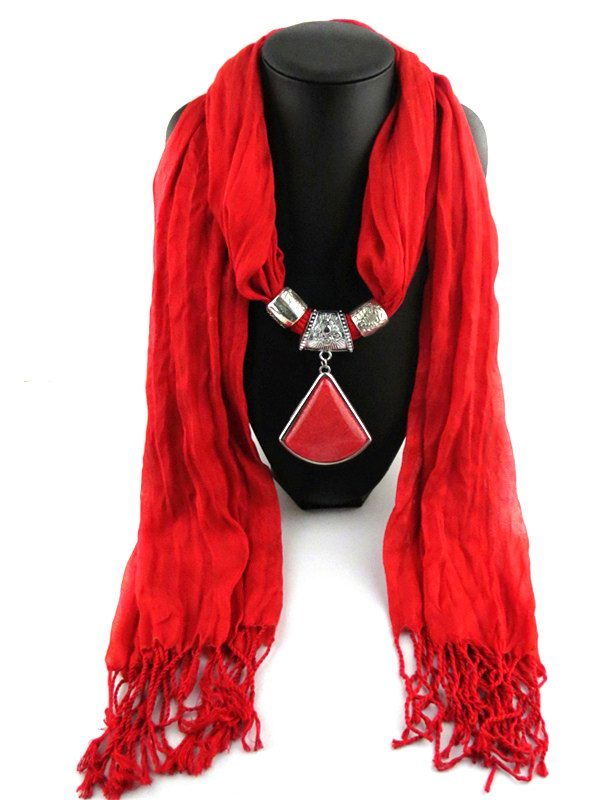 SEO_COMMON_KEYWORDS Fan Shaped design pendant Scarf