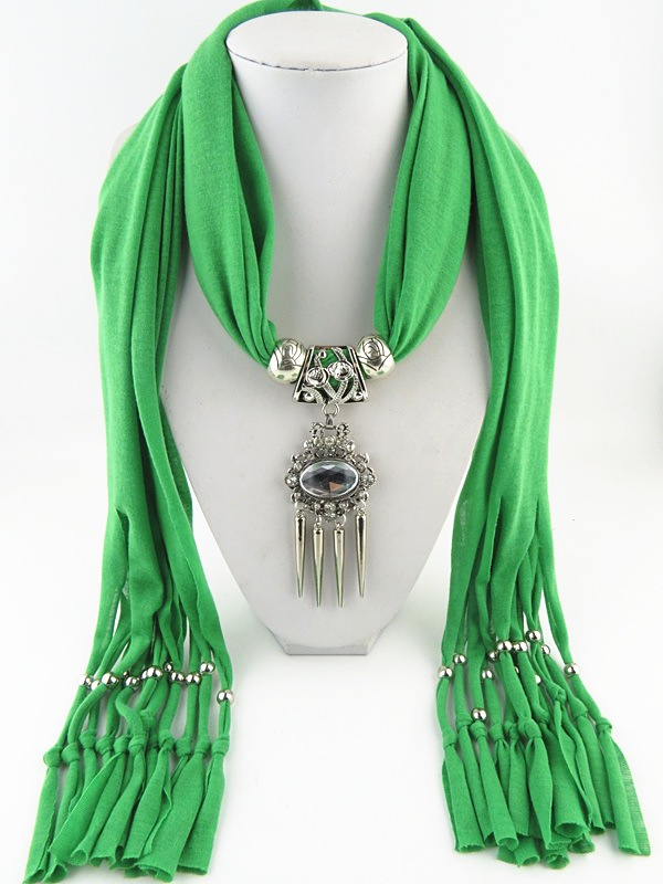 002 New design pendant scarf 2015 - Click Image to Close