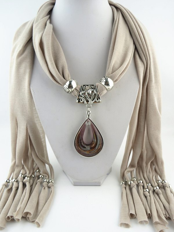 SEO_COMMON_KEYWORDS 001 Special Design Of Water Drop Pendant Scarf
