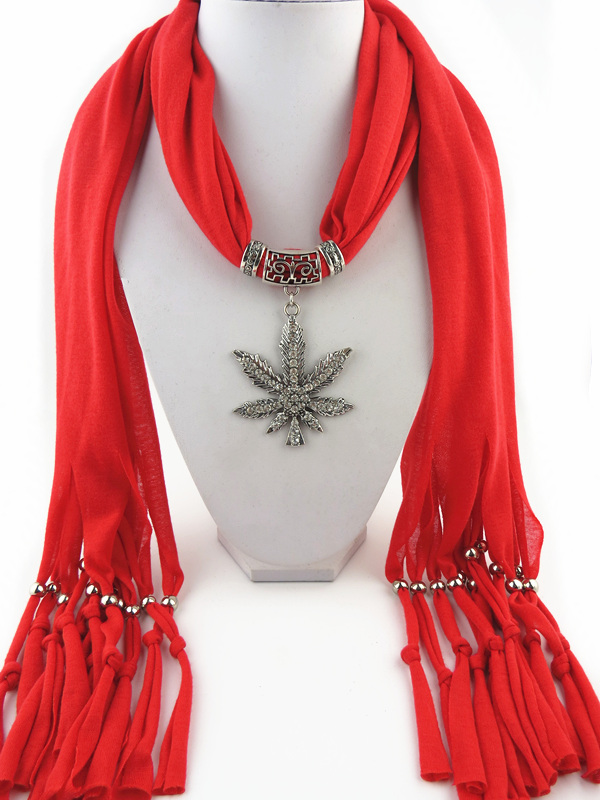 001 Christmas Tree Design Jewelry Scarf