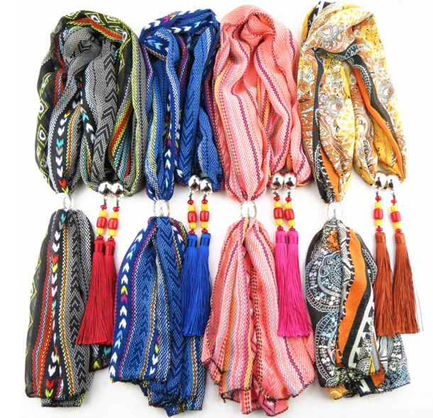 001 2016 New Fashion Pendants Scarf