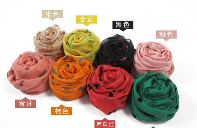 2013 Spring new style silk scarf wholesale for lady
